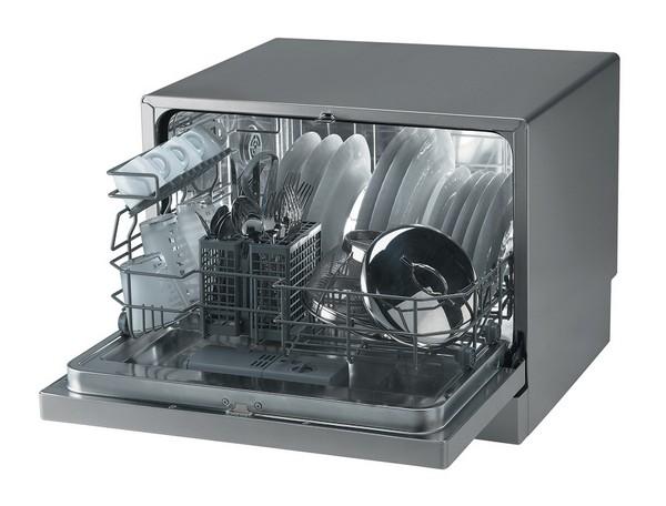 компактная настольная посудомоечная машина фото