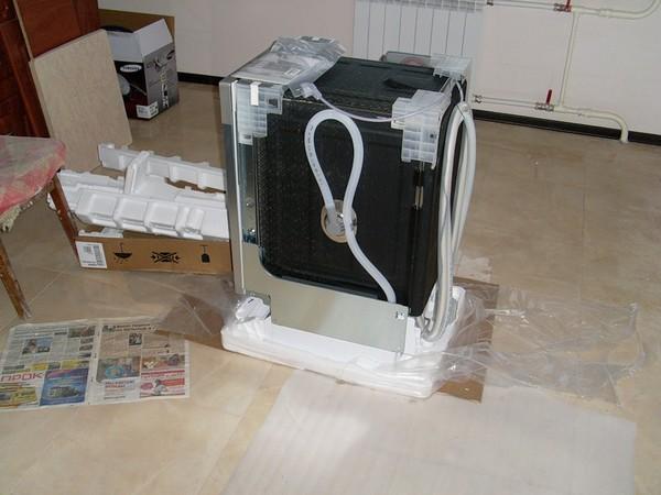 как подключить посудомоечную машину фото