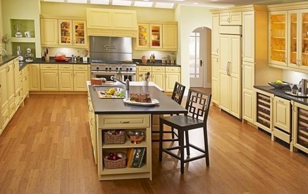 как выбрать ламинат для кухни фото