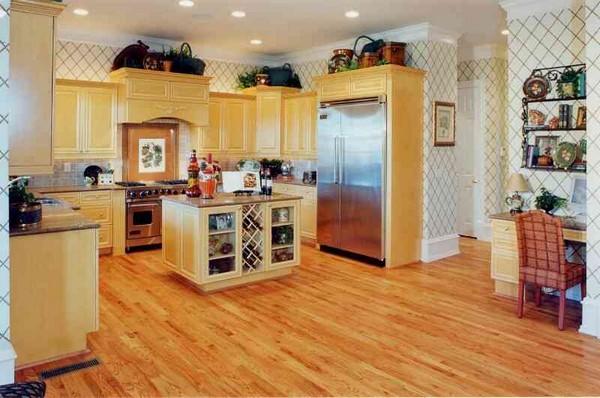 какой пол выбрать для кухни фото
