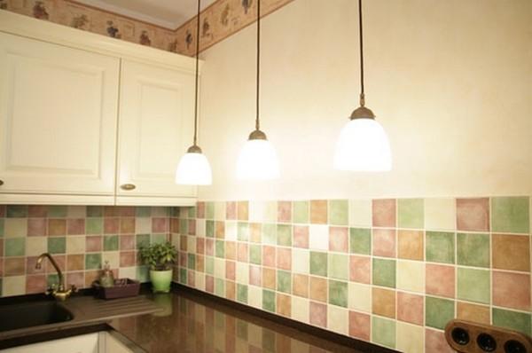 пластиковые кухонные фартуки фото