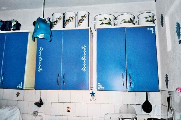 как обновить фасады кухни своими руками фото
