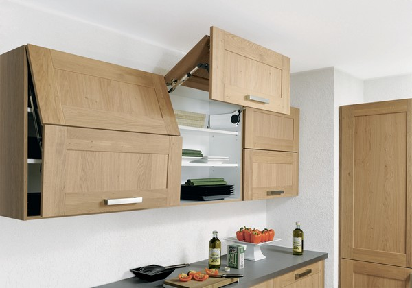 навесные шкафы для кухни фото