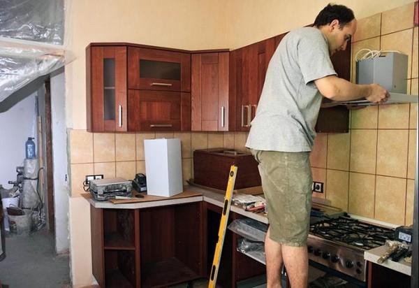 как правильно начать ремонт кухни фото