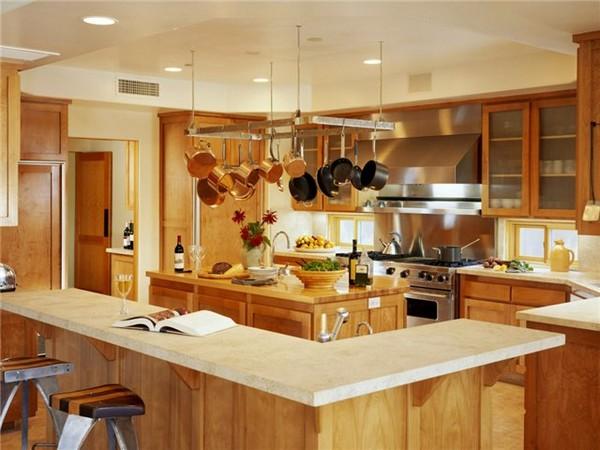 кухня столовая в частном доме фото