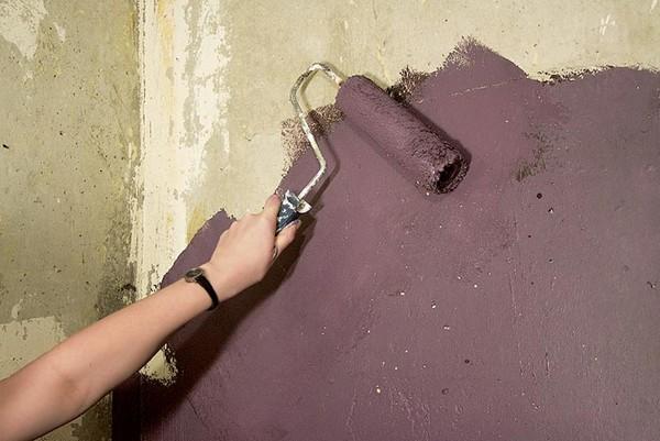 моющаяся краска для стен кухни фото