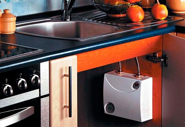 проточный водонагреватель под мойку фото