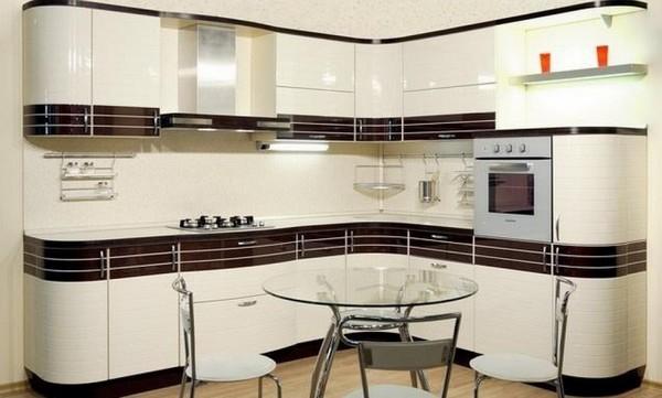 белые кухни из мдф фото