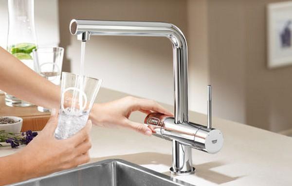 смеситель с краном для питьевой воды фото