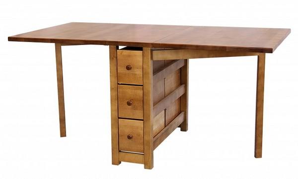 стол для кухни маленький раскладной фото