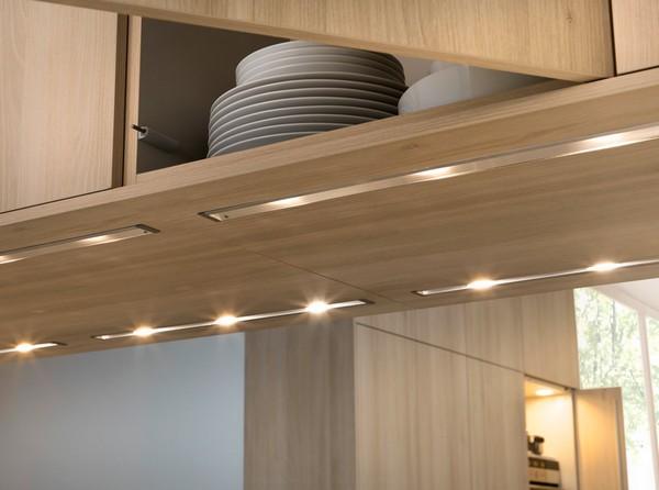 встраиваемая подсветка для кухни фото