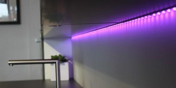 диодная подсветка для кухни фото