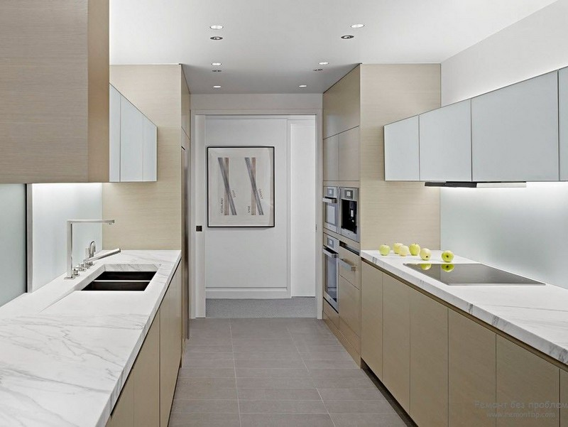 стиль минимализм в интерьере кухни фото