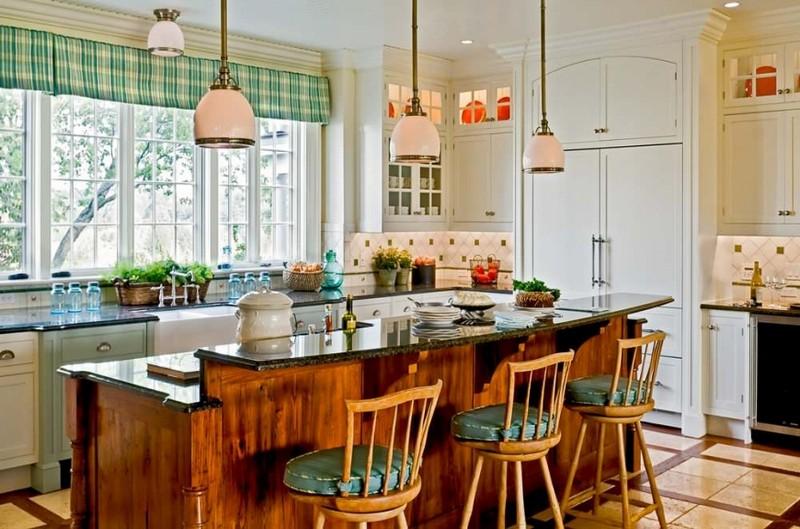 дизайн кухни в деревенском стиле фото