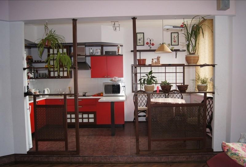 дизайн кухни в японском стиле фото