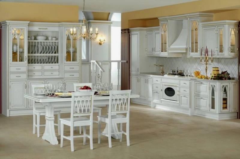 кухня в современном английском стиле фото