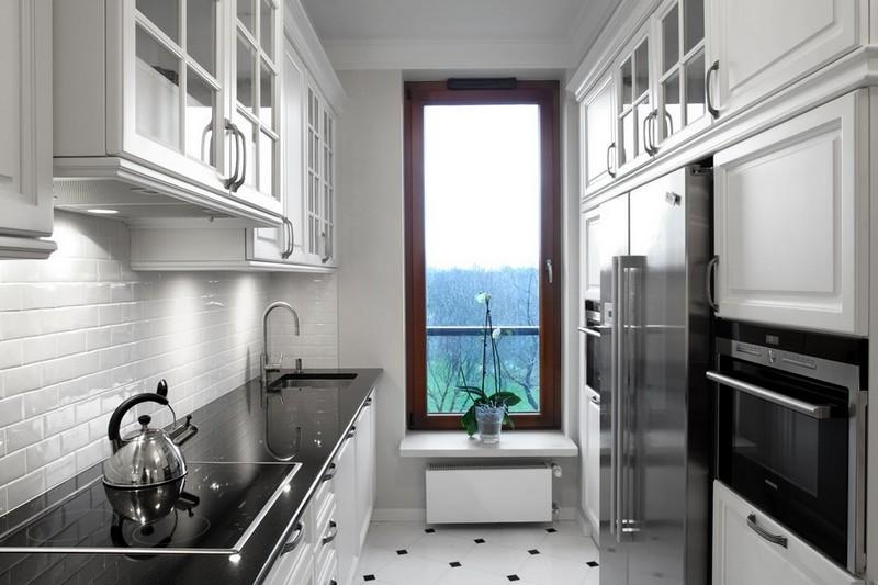 малогабаритная кухня в стиле арт деко фото