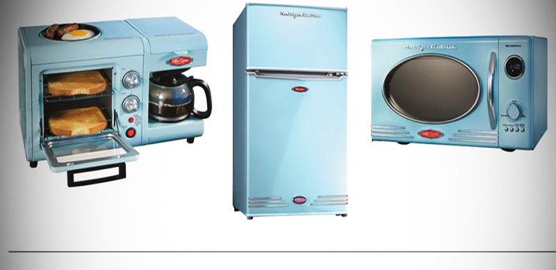 аксессуары для кухни в стиле ретро фото