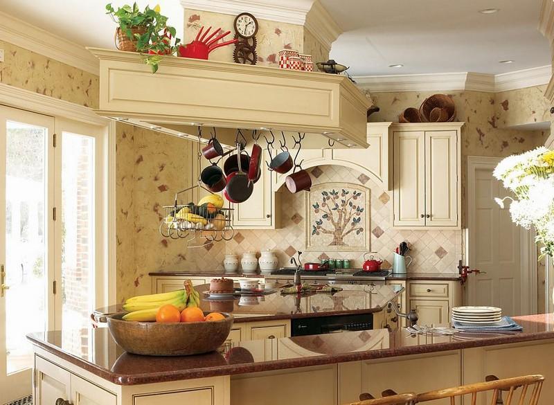 декор кухни в итальянском стиле фото