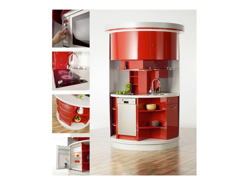 дизайн интерьера мини кухни фото