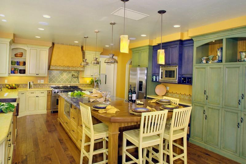 кухни в итальянском стиле прованс фото