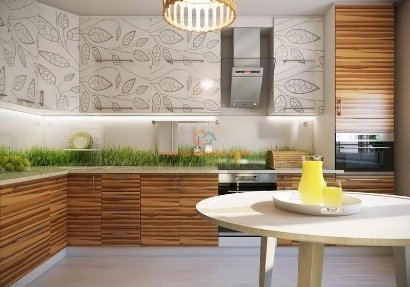 дизайн кухни эко стиль фото