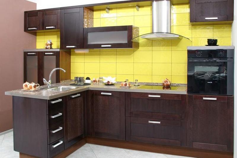 фартук для кухни венге фото