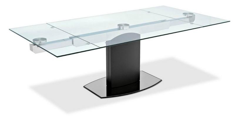 стеклянный стол для кухни трансформер фото