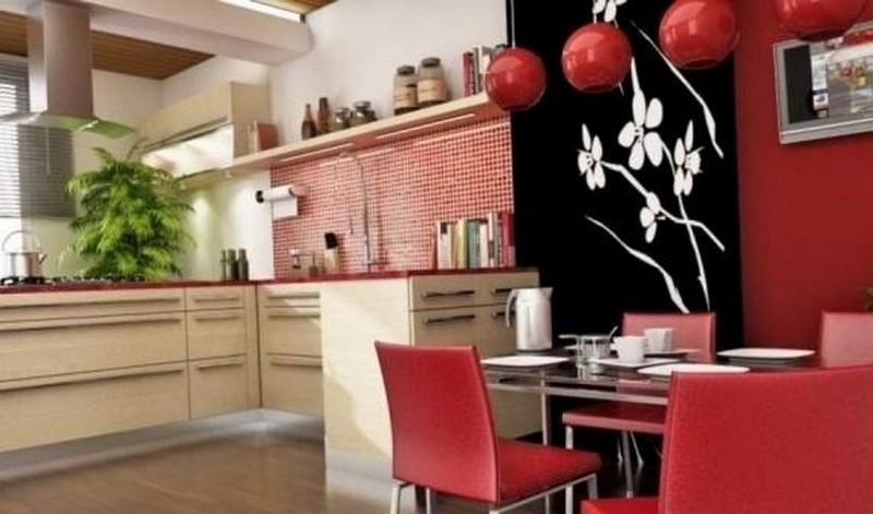 кухня по фэн шуй фото