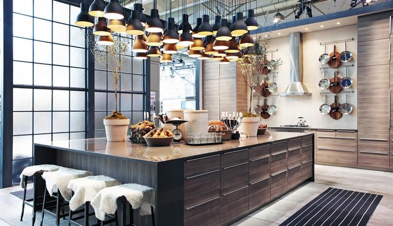интерьер кухни в стиле фьюжн фото