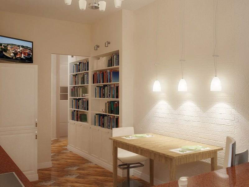 можно ли перенести кухню в коридор фото