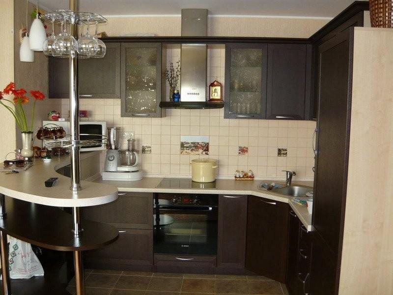 идеи планировки маленькой кухни фото