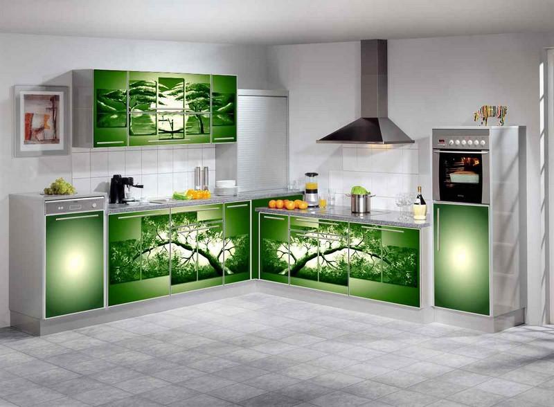какие фасады для кухни лучше фото