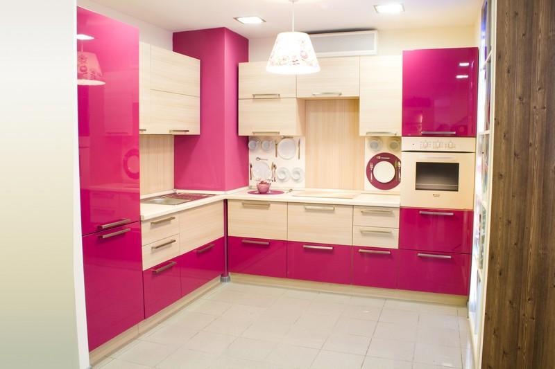 как комбинировать цвета на кухне фото