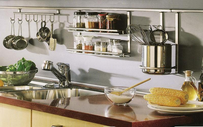 металлические полки для кухни фото