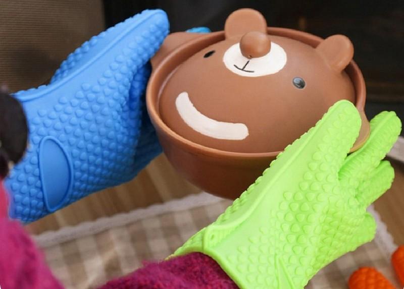 прихватки рукавицы для кухни фото