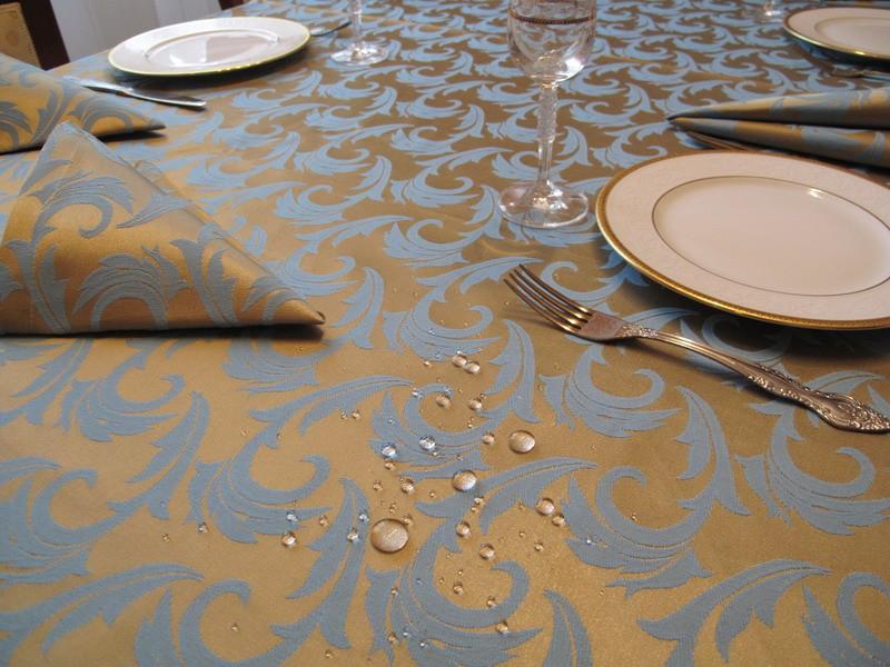 скатерть на стол для кухни водоотталкивающая фото