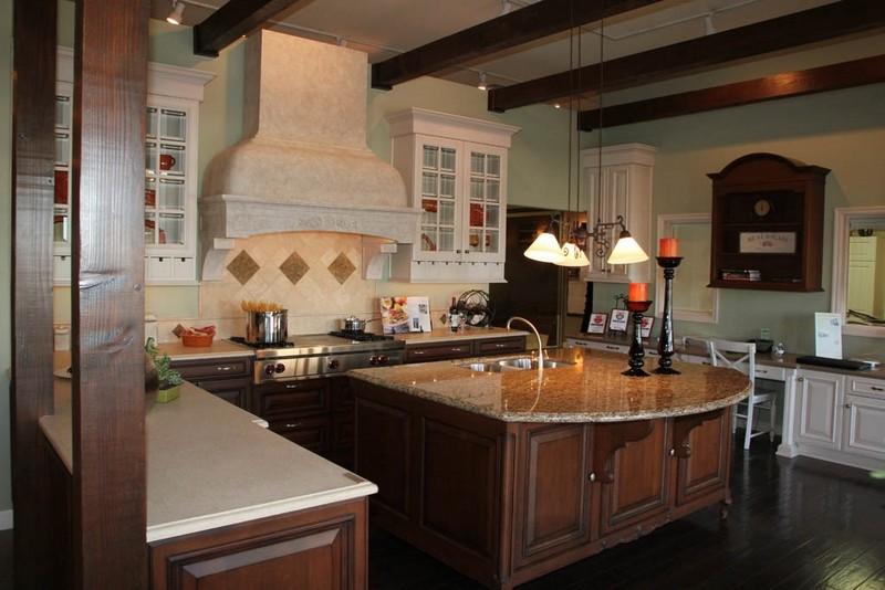 дизайн кухни в американском стиле фото