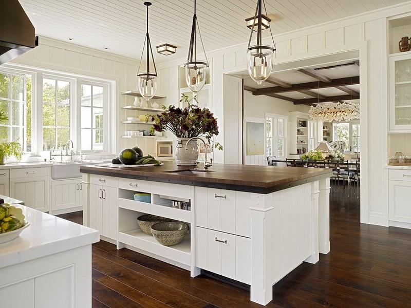 интерьер кухни в американском стиле фото