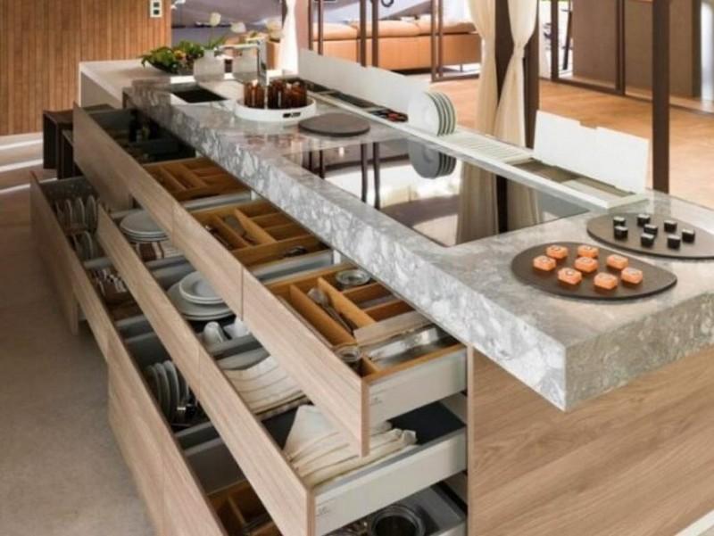 органайзеры для хранения на кухне фото
