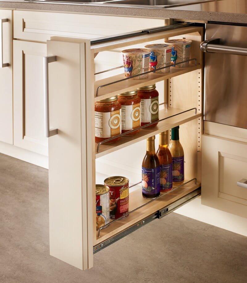 полки для бутылок на кухне фото