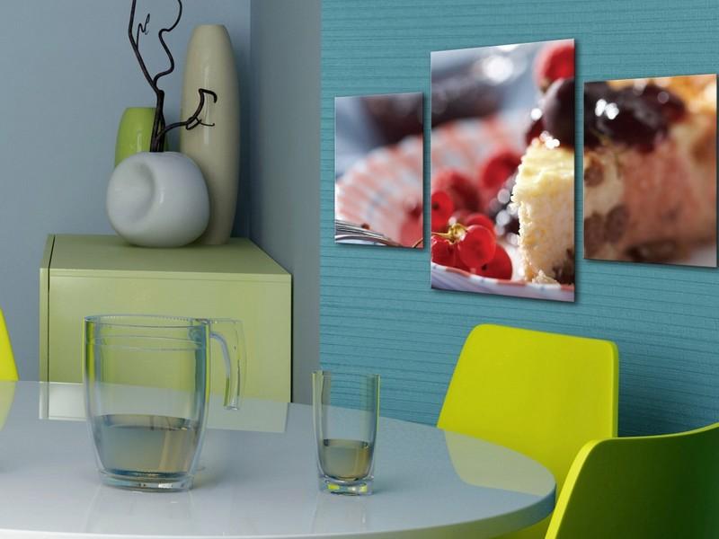 картина для кухни на стену фото