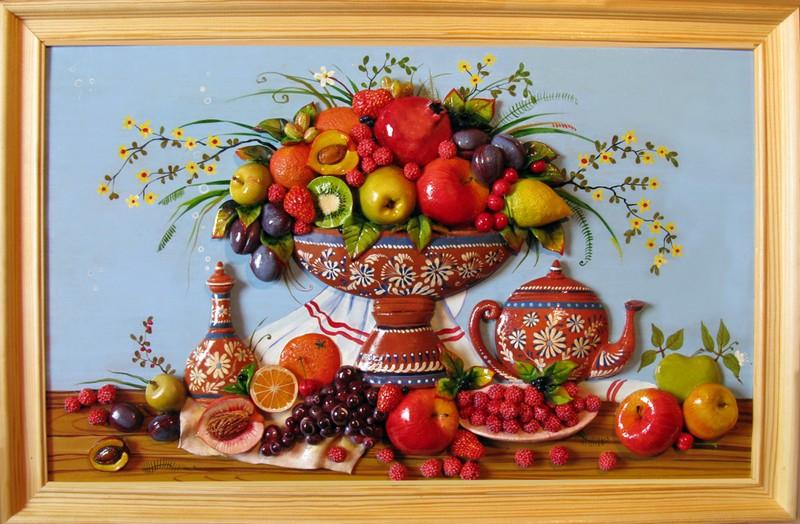 картина для кухни своими руками фото