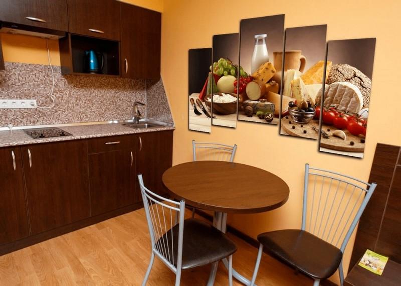 модульные картины для кухни фото