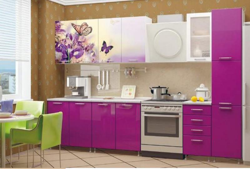кухни с фотопечатью на фасадах фото