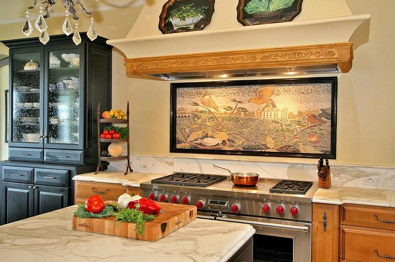 панно для фартука на кухню фото