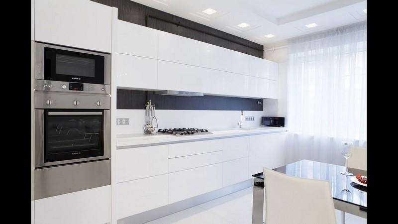 интерьер современной красивой кухни фото