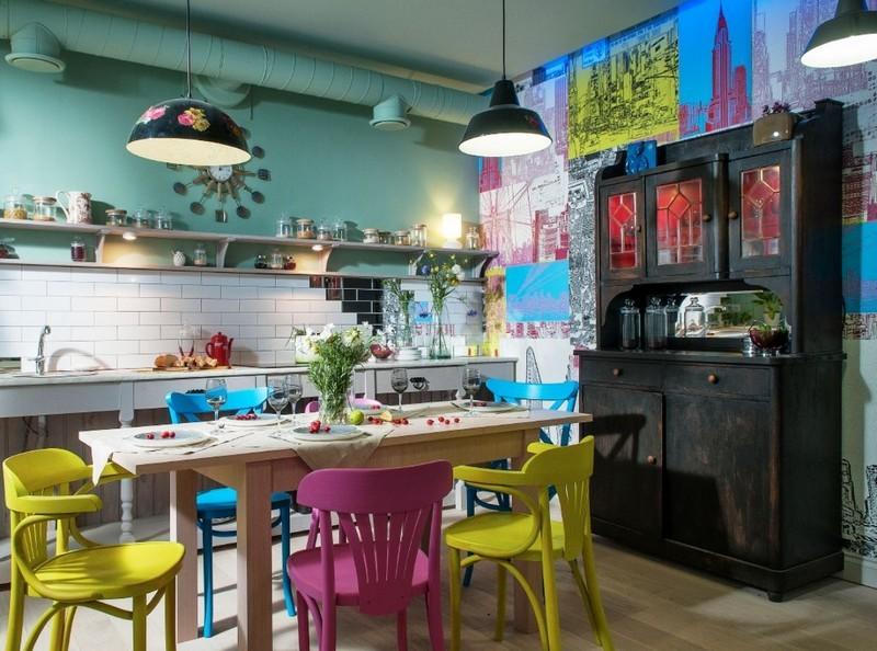 красивый интерьер кухни в квартире фото