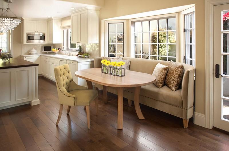 виды кухонных диванов фото