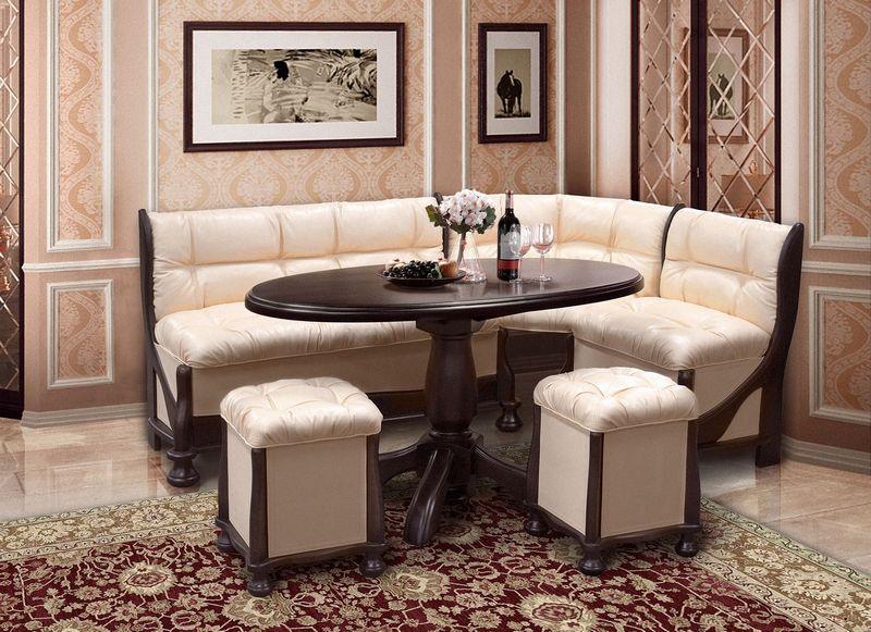 комфортная кухонная мебель фото